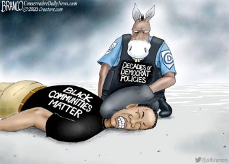 A.F. Branco Cartoon – Defund Democrats