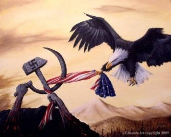 A.F. Branco Painting – Freedom's Battle in America