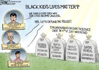 A.F. Branco Cartoon – Black Kid's Lives Matter
