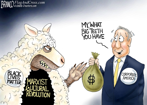 BLM, Communist Wolves in Sheep's