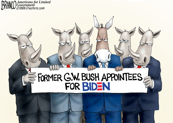 Bush Appointees for Biden