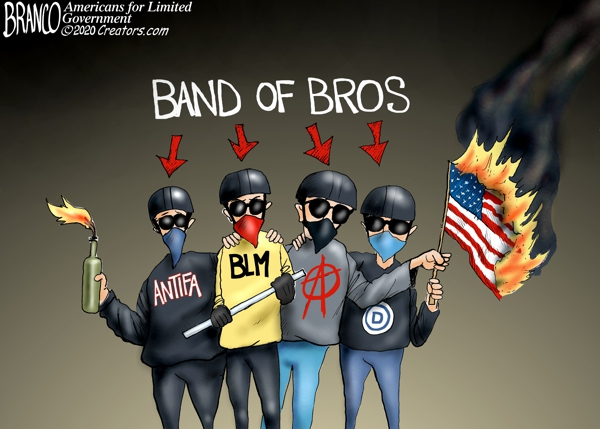 Democrat Brothers at Arms