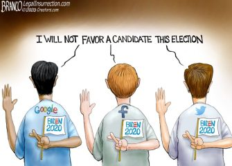 A.F. Branco Cartoon – Big Tech Lies Matter
