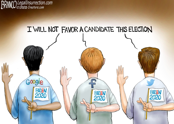 High Tech 2020 Election Lies