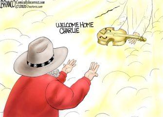 A.F. Branco Cartoon – Charlie Daniels Tribute