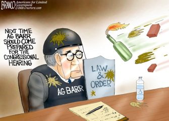 A.F. Branco Cartoon – Hearing or Smearing?