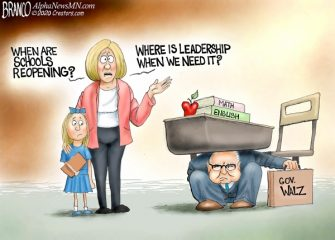 A.F. Branco Cartoon – Moms on the Frontline