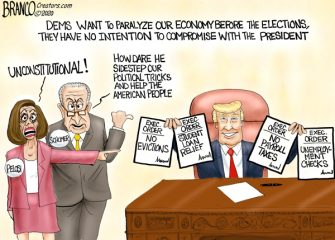 A.F. Branco Cartoon – COVID Relief