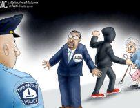 A.F. Branco Cartoon – Law Blocker