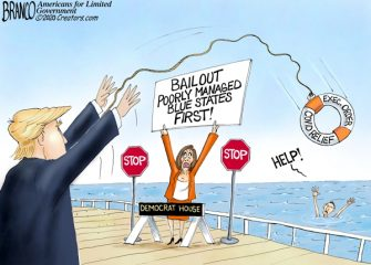 A.F. Branco Cartoon – Lifesaver in Chief