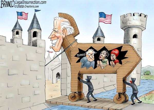 Joe Biden Trojan Horse