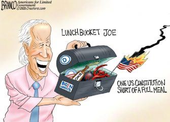 A.F. Branco Cartoon – Free Lunch