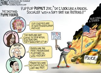 A.F. Branco Cartoon – The Puppeteers