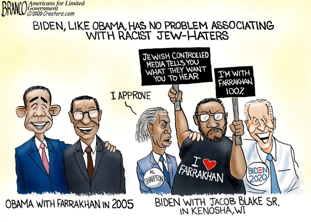 Biden and Farrakhan