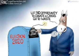 A.F. Branco Cartoon – Mail Bomber