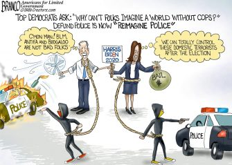 A.F. Branco Cartoon – All Tied Up