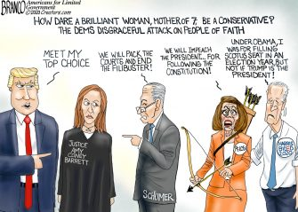 A.F. Branco Cartoon – MAGA Choice