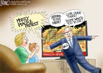 A.F. Branco Cartoon – Fire Damage