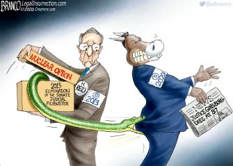 A.F. Branco Cartoon – Nuclear Fallout