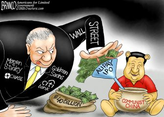 A.F. Branco Cartoon – Winning the Pooh