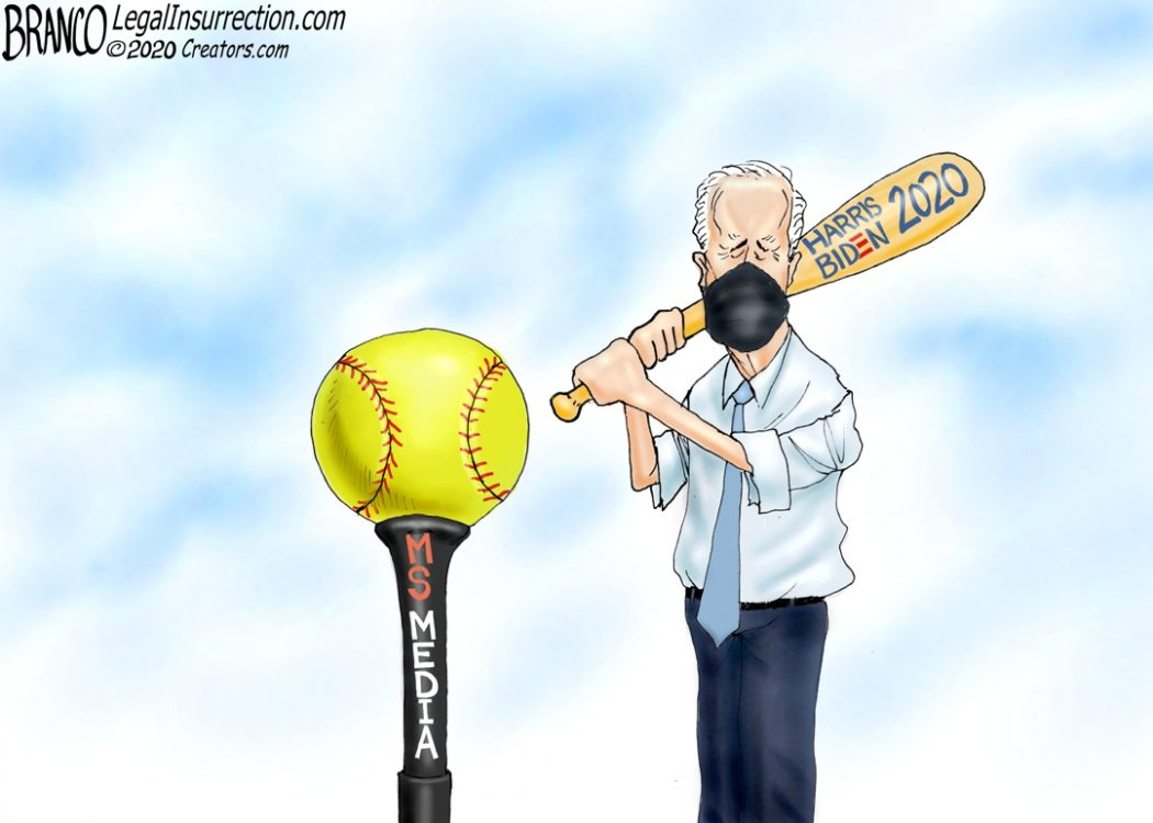 Media Pitches Softballs to Biden
