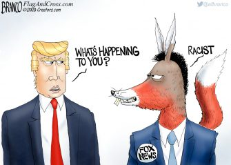 A.F. Branco Cartoon – A Different Animal
