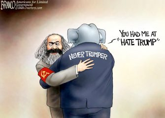 A.F. Branco Cartoon – Odd Couple