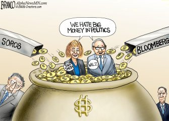 A.F. Branco Cartoon – Big Money Politics