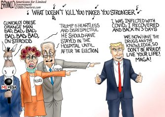 A.F. Branco Cartoon – Back Stronger
