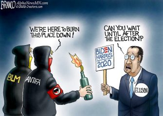 A.F. Branco Cartoon – Political Favors