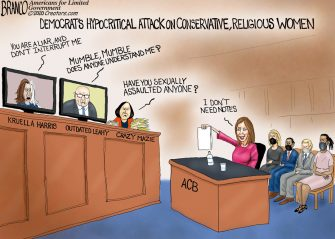A.F. Branco Cartoon – Roasting Amy