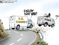 A.F. Branco Cartoon – Leading From Behind