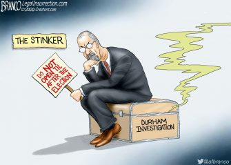 A.F. Branco Cartoon – Wimping Out