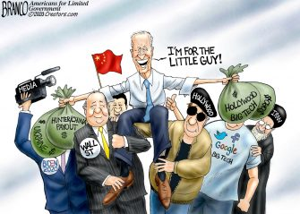 A.F. Branco Cartoon – Steal Team Six