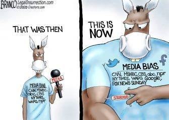 A.F. Branco Cartoon – Dopehead