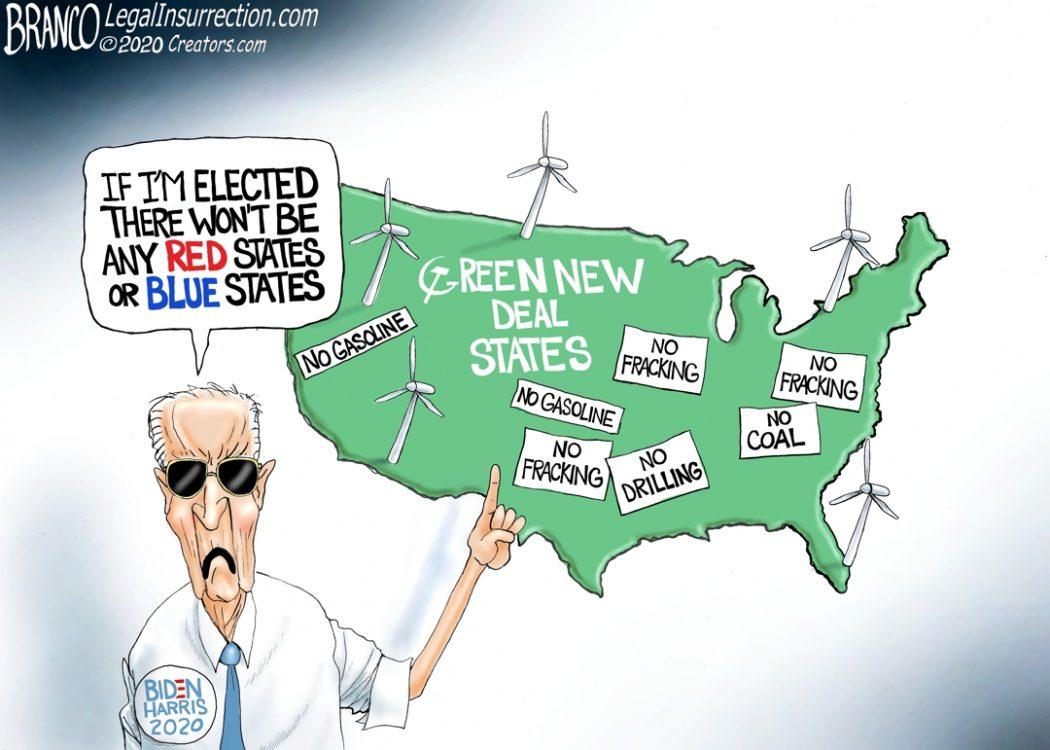 Biden Green States
