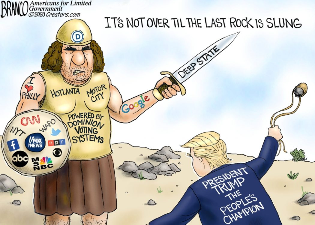 Trump And The Leftist Goliath