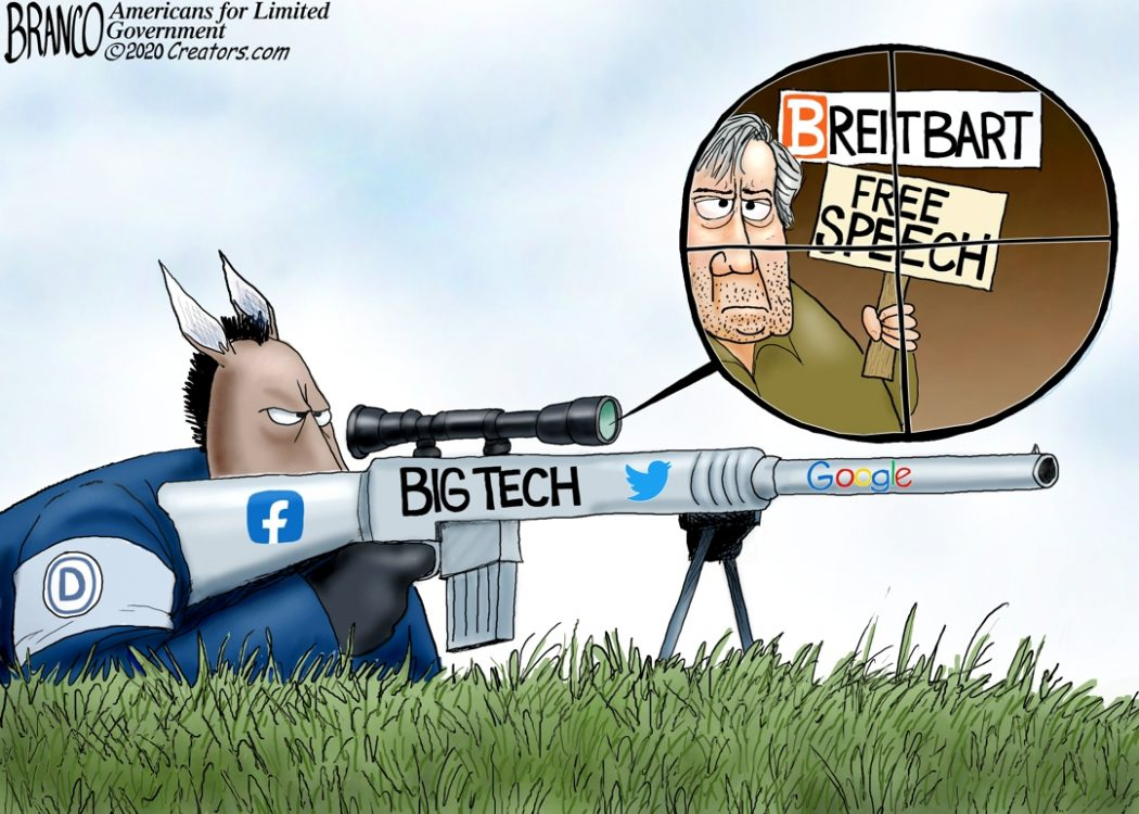 Big Tech Anti-Free Speech