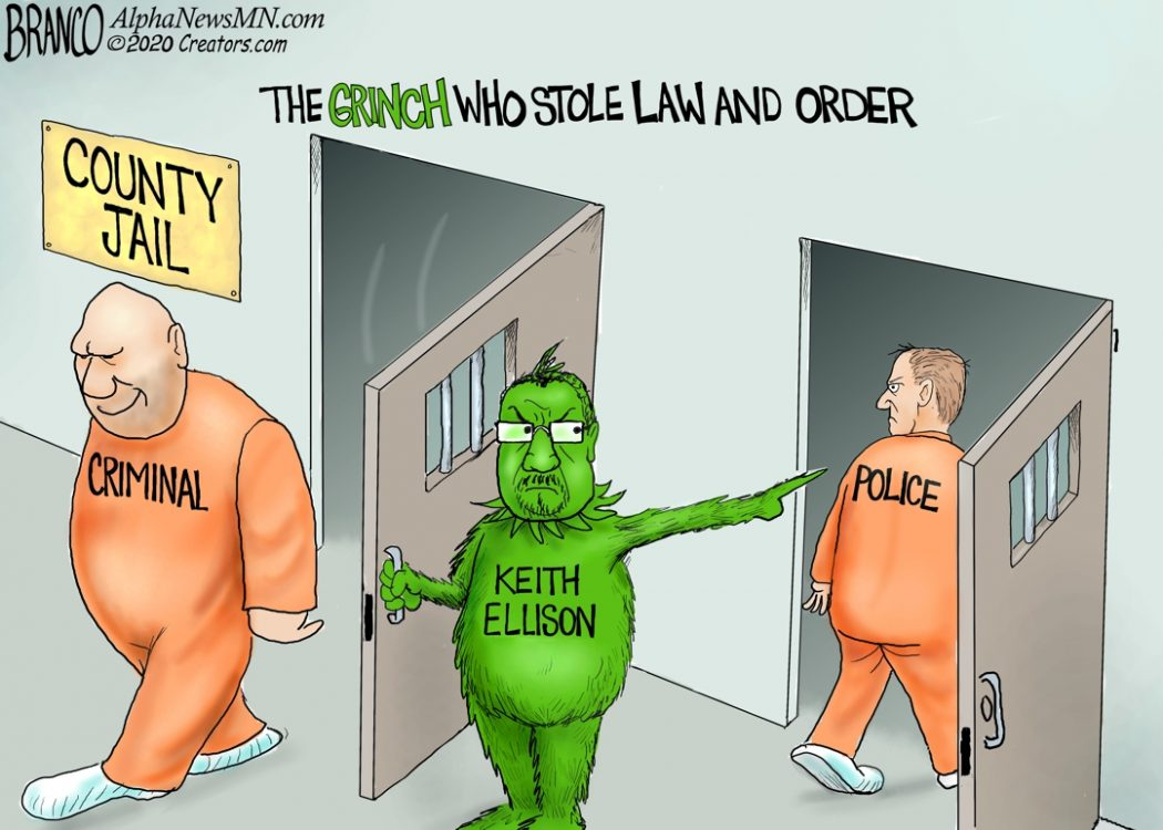 Keith Ellison Grinch