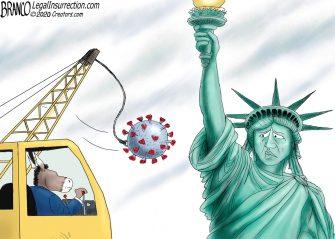 A.F. Branco Cartoon – Wrecking ball