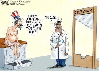 A.F. Branco Cartoon – Political Malpractice