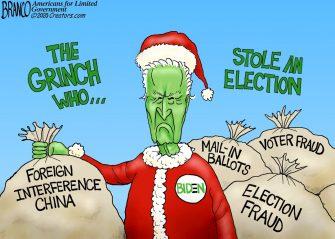 A.F. Branco Cartoon – Green New Steal