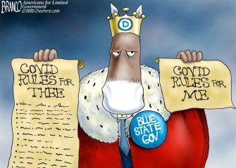 A.F. Branco Cartoon – Royal Sham