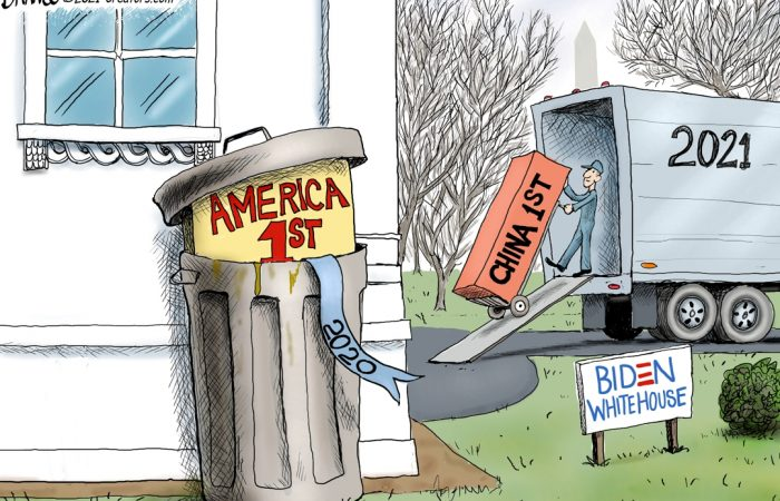 A.F. Branco Cartoon – Out With the New