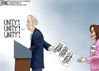 A.F. Branco Cartoon – Unifier in Chief