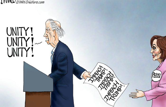 A.F. Branco Cartoon – Unifier in Chief