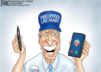 A.F. Branco Cartoon – Tools of the Trade