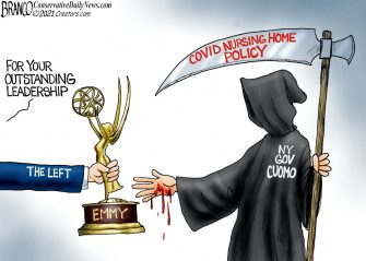 A.F. Branco Cartoon – Dr. Death