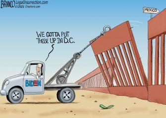A.F. Branco Cartoon – Walls For D.C.