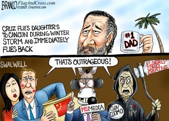 A.F. Branco Cartoon – Daddy Knows Best